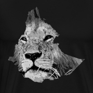 Proud lion emerges from Ethiopia and Eritrea  - Men's Premium T-Shirt