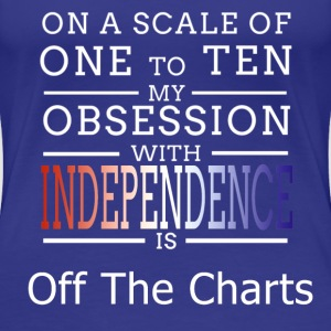 Independence Obsession Women's T-Shirts - Women's Premium T-Shirt