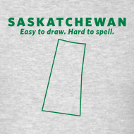 Design ~ Saskatchewan. Easy to Draw. Hard to Spell.