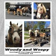 Design ~ Woody and Weepy Tshirt--ladies