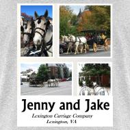 Design ~ Jenny and Jake Tshirt--adult