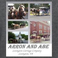 Design ~ Arron and Abe Tshirt--ladies