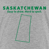 Design ~ Saskatchewan. Easy to Draw, Hard to Spell