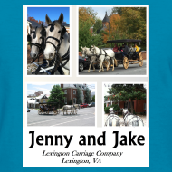 Design ~ Jenny and Jake Tshirt--ladies