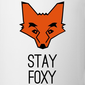 fox stay foxy orange head animal smart clever Mugs & Drinkware - Coffee/Tea Mug