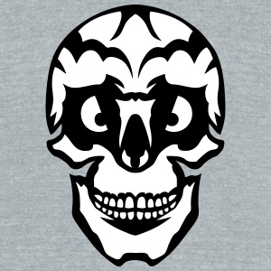 wicked appearance skull T-Shirts - Unisex Tri-Blend T-Shirt by American Apparel