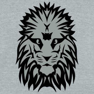 lion king nasty look 0 T-Shirts - Unisex Tri-Blend T-Shirt by American Apparel