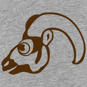 ram drawing profile 911 animals Kids' Shirts - Kids' Premium T-Shirt