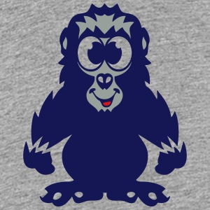 gorilla baby animals drawing 811 Kids' Shirts - Kids' Premium T-Shirt