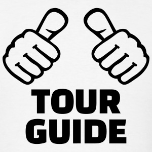 Tour guide T-Shirts - Men's T-Shirt