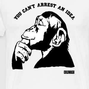 YOU CAN'T ARREST AN IDEA T-Shirts - Men's Premium T-Shirt