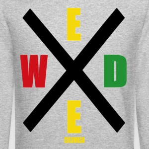 WEED Long Sleeve Shirts - Crewneck Sweatshirt