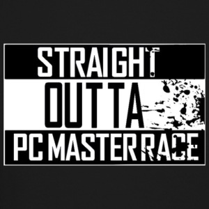 Straight Outta Pc Master Race Long Sleeve Shirts - Crewneck Sweatshirt