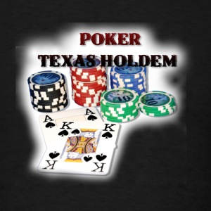 Poker Ace King3 T-Shirts - Men's T-Shirt