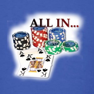 Poker Ace King2 T-Shirts - Men's T-Shirt