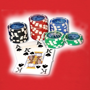 Poker Ace King1 T-Shirts - Men's T-Shirt