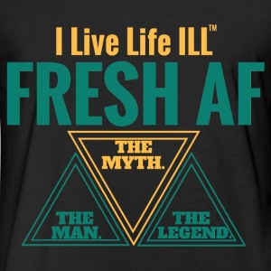 FRESH AF  T-Shirts - Fitted Cotton/Poly T-Shirt by Next Level