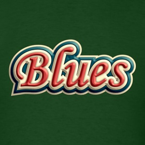 blues vintage - Men's T-Shirt