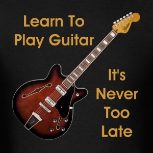 learn guitar - Men's T-Shirt