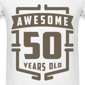 Awesome 50 Years Old - Men's T-Shirt