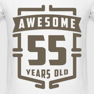 Awesome 55 Years Old - Men's T-Shirt