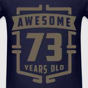 Awesome 73 Years Old - Men's T-Shirt