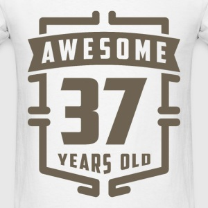 Awesome 37 Years Old - Men's T-Shirt