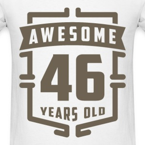 Awesome 46 Years Old - Men's T-Shirt