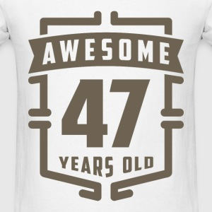 Awesome 47 Years Old - Men's T-Shirt