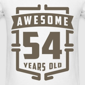 Awesome 54 Years Old - Men's T-Shirt