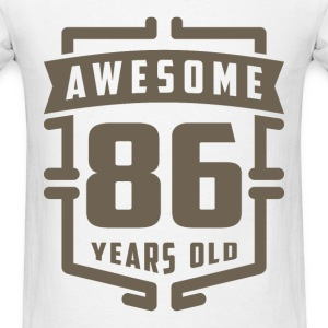 Awesome 86 Years Old - Men's T-Shirt
