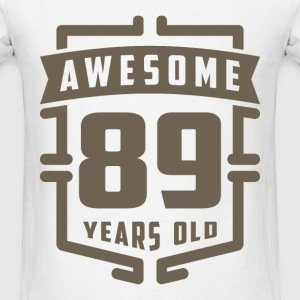Awesome 89 Years Old - Men's T-Shirt