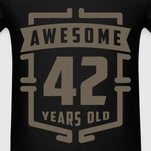 Awesome 42 Years Old - Men's T-Shirt
