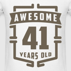 Awesome 41 Years Old - Men's T-Shirt