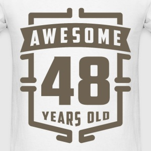 Awesome 48 Years Old - Men's T-Shirt