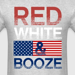 Red White And Booze T-Shirts - Men's T-Shirt