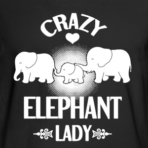 Elephant Lady Shirt - Men's Long Sleeve T-Shirt