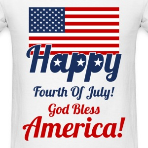 Fourth of July Design for Men - Men's T-Shirt