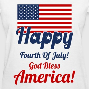 Fourth of July Design for Women - Women's T-Shirt