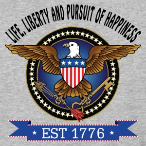 LIFE, LIBERTY AND PURSUIT OF HAPPINESS T-Shirts - Baseball T-Shirt
