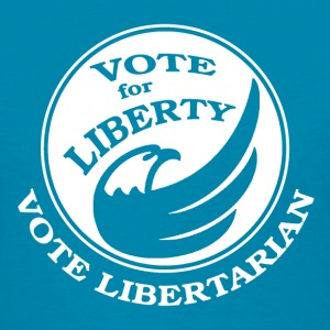 Vote Libertarian - Women's T-Shirt