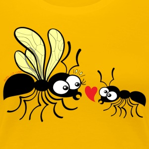 Declaration of love for a queen ant Women's T-Shirts - Women's Premium T-Shirt