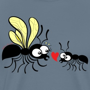 Declaration of love for a queen ant T-Shirts - Men's Premium T-Shirt