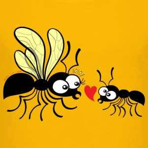 Declaration of love for a queen ant Kids' Shirts - Kids' Premium T-Shirt