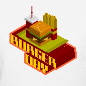 burger day - Women's T-Shirt