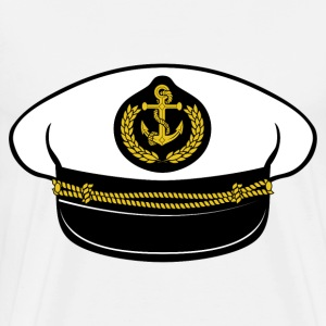captain hat - Men's Premium T-Shirt