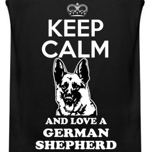 german shepherd Sportswear - Men's Premium Tank
