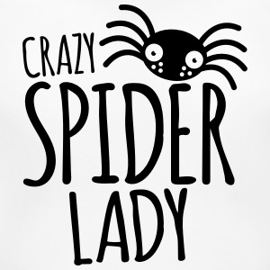 crazy spider lady Women's T-Shirts - Women's Maternity T-Shirt