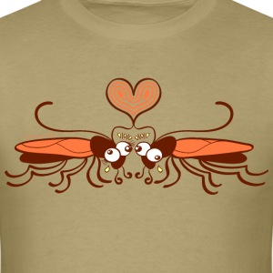 Ugly cockroaches passionately falling in love T-Shirts - Men's T-Shirt