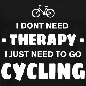 CYCLING THERAPY T-Shirts - Men's Premium T-Shirt